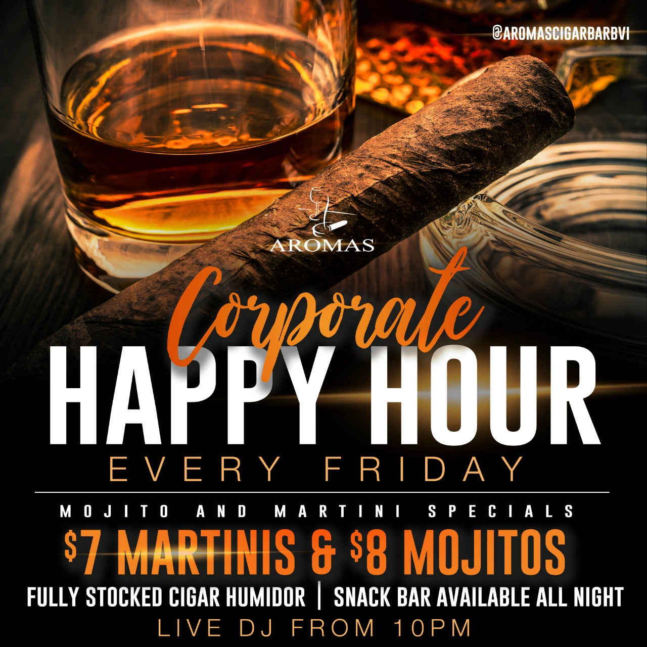 Corporate Happy Hour Special