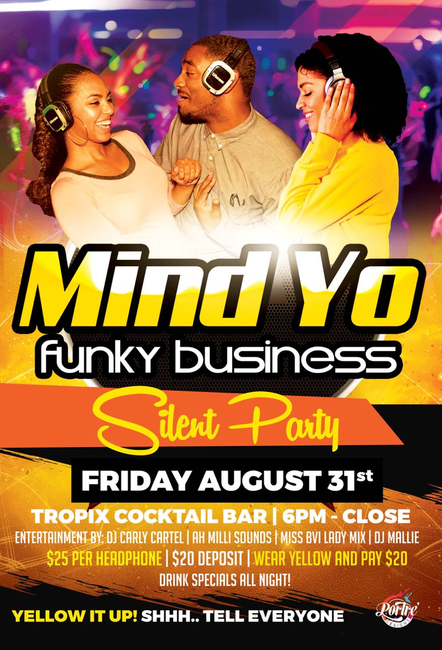 Mind Yo Funky Business Silent Party